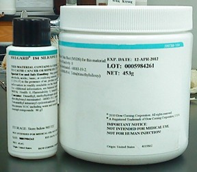 Dow Corning manufactured 184 Sylgard Elastomer